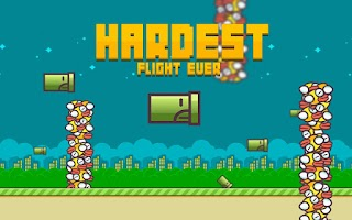 Screenshot of Hardest Flight Ever: Fly Pipe