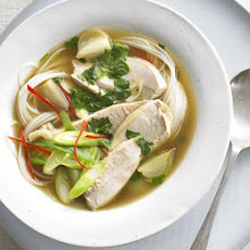 Asian Hot & Sour Turkey Soup