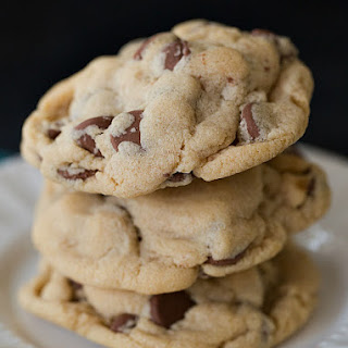 Soft & Chewy Peanut Butter-Chocolate Chip Cookies