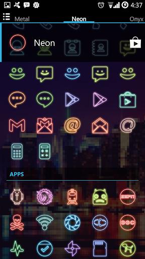 Neon (Go Apex Nova) Icon Theme - screenshot