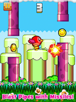 Screenshot of Happy Bird - Tiny Wings