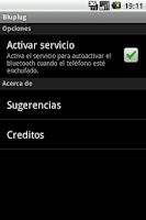 Screenshot of Bluplug