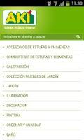 Screenshot of Catálogo AKI Bricolaje
