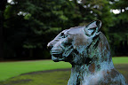 panther statue 02 in Shizen Kyoiku Park