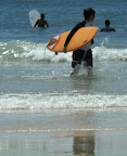 Aya surfing at Izu 12