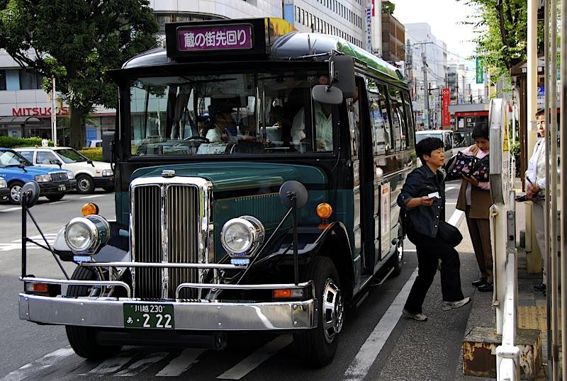 Kawagoe's special bus
