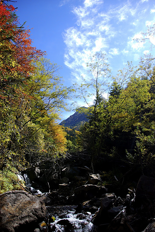 The very beginning of the trail to Akadake was colorful
