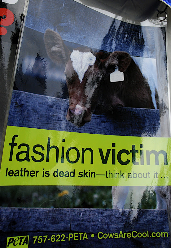 I can't tell you how much I want it to be know that leather too, is murder!
