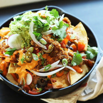 The Ultimate Fully Loaded Vegan Nachos