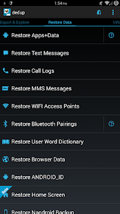 Nandroid Manager * ROOT Screenshot
