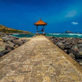 One Way by Ajjas Ravenant - Landscapes Travel ( #candidasa #bali #indonesia #bluesky #landscapes )