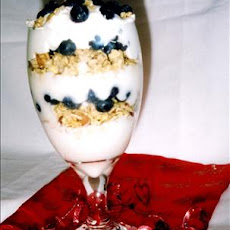 Blueberry Granola Parfait