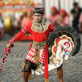 THE REOG PONOROGO'S JATHILAN by Khussuma Neeghara - People Musicians & Entertainers