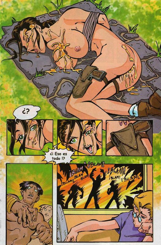 Tomb raider порно комикс