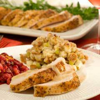 Parmesan-sage Roasted Turkey Breast With Sage Gravy
