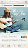 Screenshot of SingPlay: Karaoke your MP3s