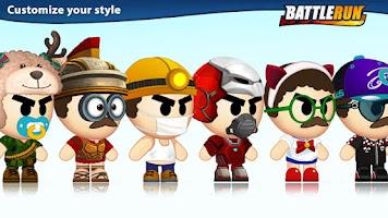 Screenshot of Battle Run