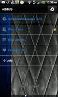 Screenshot of GO SMS - Cobalt Merge