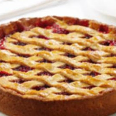 Cranberry Almond Crostata