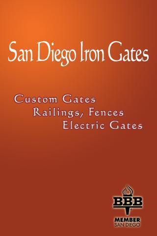 San Diego Iron Gates