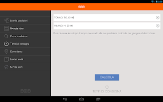 Screenshot of TNT Italia