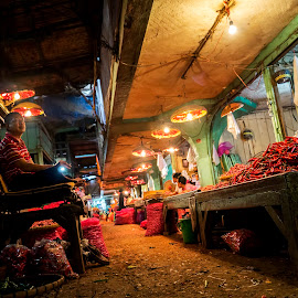 on traditional market by Dwi Hadip - People Street & Candids ( market, people )