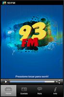 Screenshot of Radio 93 FM