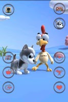 Screenshot of Talking Puppy And Chick
