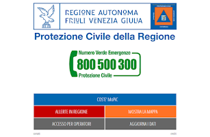 Screenshot of MoPiC - Piani emergenza FVG