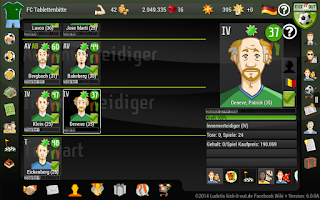 Screenshot of Kick it out! Football Manager