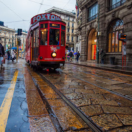 by Yurii Kaluzha - City,  Street & Park  Street Scenes