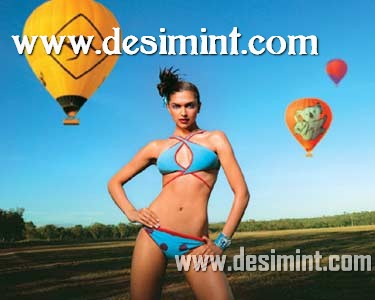 Deepika Padukone In Kingfisher Calender Wearing a Bikini Looking Hot and Sexy