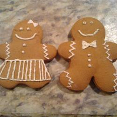 Soft Gingerbread Cookies