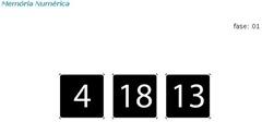 Memória numérica