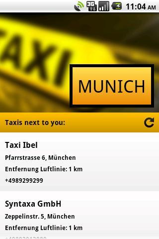 Taxi Munich