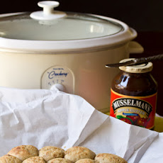 Slow-Cooker Apple Butter Yeast Rolls
