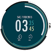 Download Casual Printed Watch Face Free APK on PC