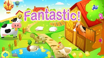Screenshot of Kids Jigsaw Puzzles Farm HD