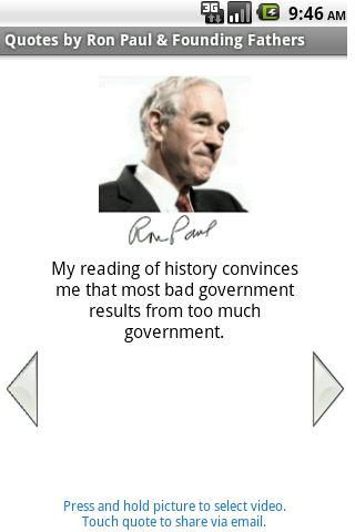 Quotes by Ron Paul Founders