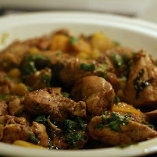 Curried Chicken with Apricots