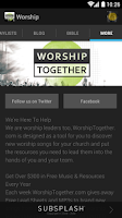 Screenshot of Worship Together