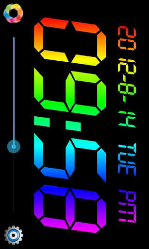 Rainbow Table Clock 2012