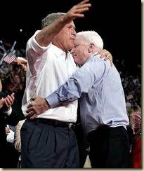 mccain bush hug twn