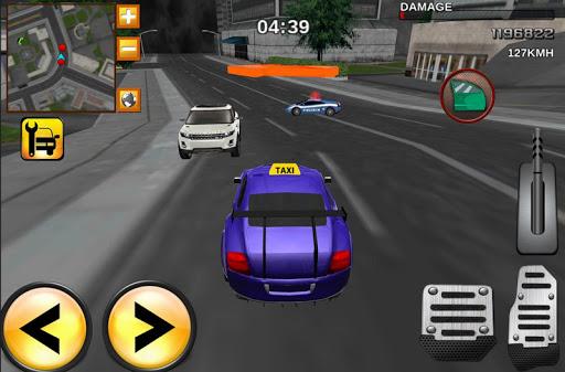 Taxi Driver Mania 3D racing - screenshot