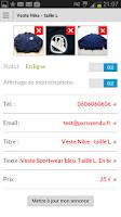 Screenshot of ParuVendu – annonces gratuites