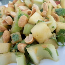 Thai Style Apple and Celery Salad