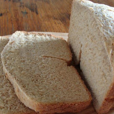 Bread Machine Honey Wheat Bread