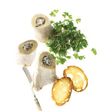 Roasted Bone Marrow with Fresh Horseradish Gremolata
