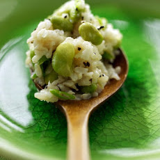 Brown Rice and Edamame