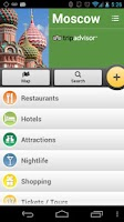 Screenshot of Moscow City Guide
